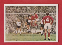 England v West Germany Charlton Stiles @ Wembley